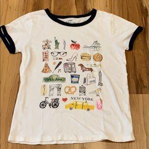 J. Crew New York Collector Short Sleeve T-Shirt